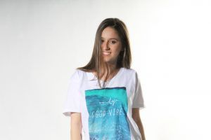 CAMISETA GOOD VIBES -1